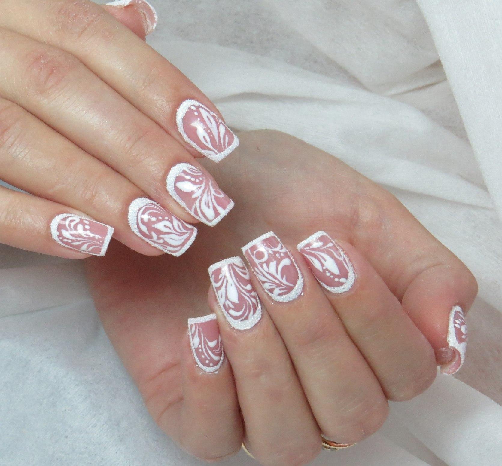 Смотреть Новогодний дизайн ногтей видео