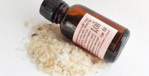 ванночка для ногтей с йодом и солью