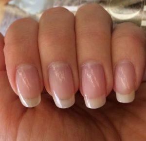 длинные ногти натуральные