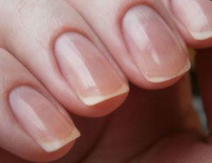 ногти после запечатывания воском