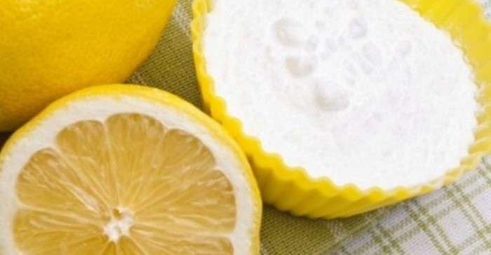 лимон с содой отбеливание ногтей