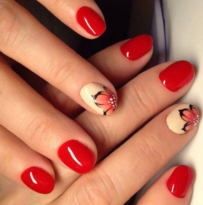 красные-ногти-с рисунком (109)