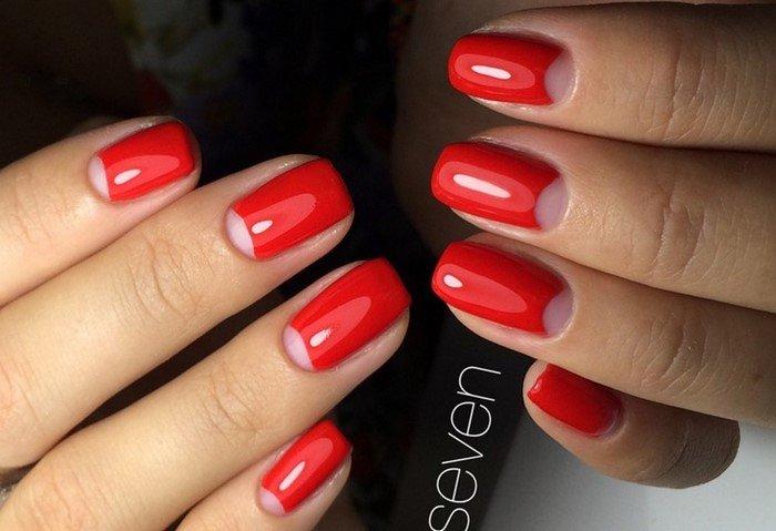 красные-ногти-с рисунком (2)