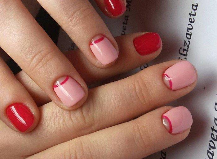 красные-ногти-с рисунком (20)
