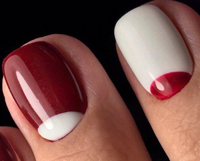 красные-ногти-с рисунком (33)
