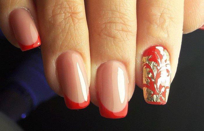 красные-ногти-с рисунком (48)