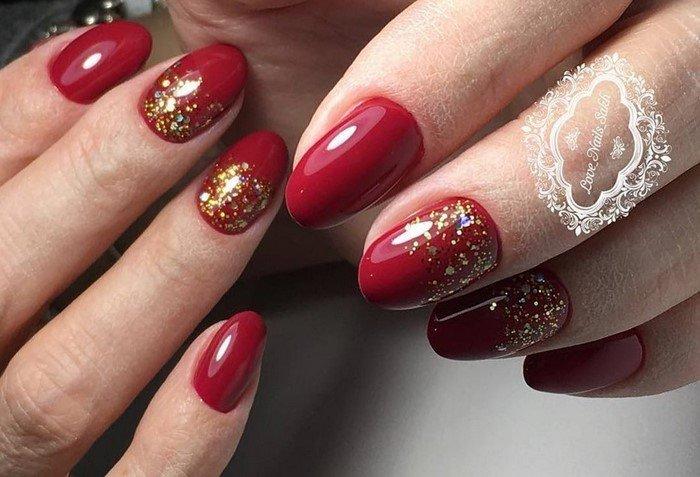 красные-ногти-с рисунком (57)