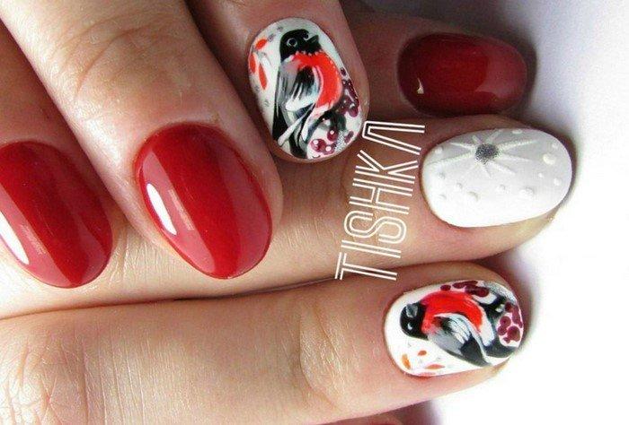 красные-ногти-с рисунком (58)
