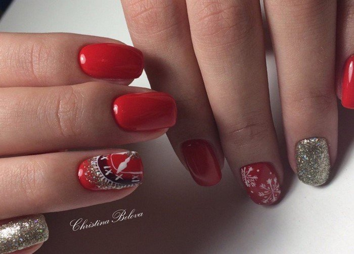 красные-ногти-с рисунком (65)