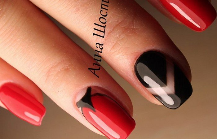 красные-ногти-с рисунком (66)