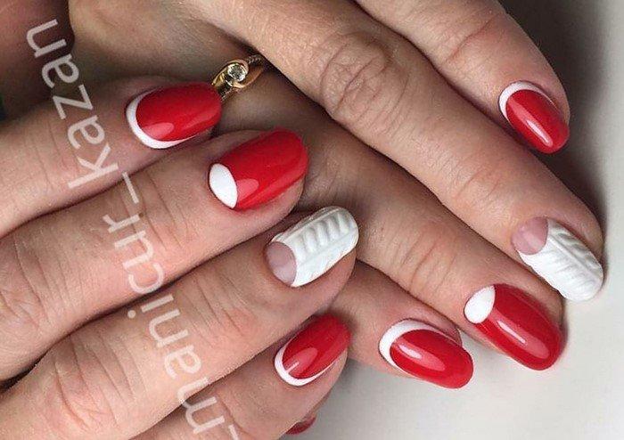 красные-ногти-с рисунком (72)