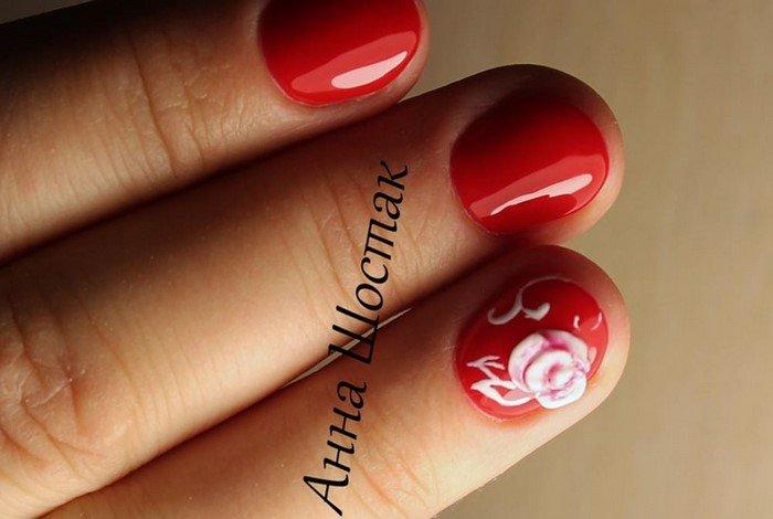 красные-ногти-с рисунком (76)