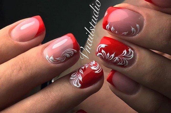 красные-ногти-с рисунком (80)