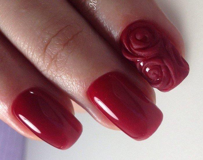 красные-ногти-с рисунком (84)