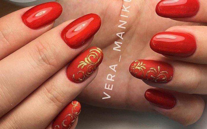 красные-ногти-с рисунком (88)