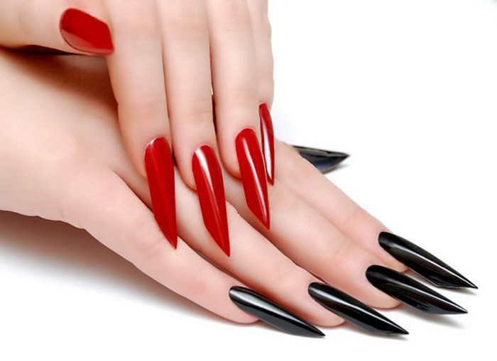 Ногти в стиле бриджит