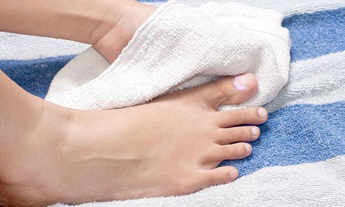 Вытирание ног